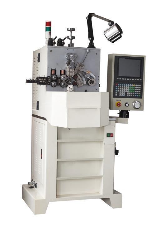 弹簧机(YF-416四轴伺服电脑压簧机)