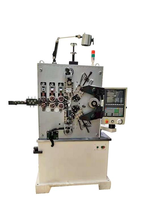 弹簧机(YF-435四轴伺服电脑压簧机)